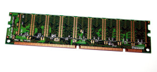 128 MB SD-RAM 168-pin PC-100 ECC 100 MHz Transcend single-sided