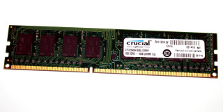 4 GB DDR3-RAM 240-pin PC3-12800U non-ECC  Crucial CT51264BA160BJ.C8FER