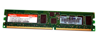 512 MB DDR-RAM PC-2700R Registered-ECC Hynix HYMD264G726DF4N-J AA-A 331561-041