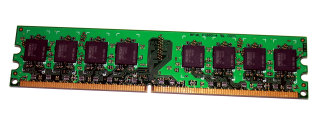 1 GB DDR2-RAM PC2-6400U non-ECC CL5 Aeneon AET760UD00-25D-S  double-sided