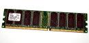 1 GB DDR-RAM PC-2100U non-ECC 184-pin  Samsung...