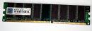 1 GB DDR-RAM PC-2700U nonECC   Transcend