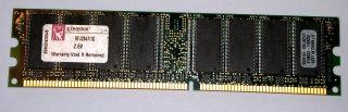 1 GB DDR-RAM 184-pin PC-3200U non-ECC  Kingston KFJ2847/1G