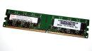 1 GB DDR2-RAM 2Rx8 PC2-5300U non-ECC  Hynix...