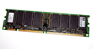 128 MB SD-RAM 168-pin PC-133U non-ECC  Elpida MC-4516B647XF-A75  HP: 1818-8150