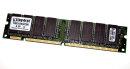 256 MB SD-RAM  168-pin PC-100U non-ECC  Kingston...
