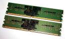 1 GB DDR2-RAM (2 x 512MB) PC2-4200U non-ECC Kingston...
