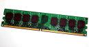 1 GB DDR2-RAM PC2-4200U non-ECC  533 MHz  Team...