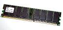 128 MB DDR-RAM 184-pin PC-2100U non-ECC  Samsung...