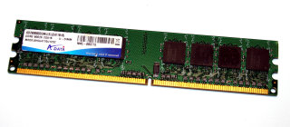 2 GB DDR2-RAM 240-pin PC2-6400U non-ECC CL5  ADATA AD2800002GMU
