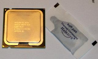 CPU Intel Core2Quad Q8200 SLB5M    4x2.33 GHz, 1333 MHz FSB, 4 MB, Sockel 775