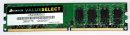 2 Go DDR2-RAM 240 broches PC2-6400U non ECC Corsair VS2GB800D2