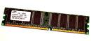1 GB DDR-RAM 184-pin PC-3200U non-ECC 400 MHz  Samsung...