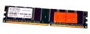 1 GB DDR-RAM 184-pin PC-3200U non-ECC 2,5V  EXCELRAM E10100A