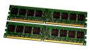 2 GB DDR2-RAM (2 x 1 GB) PC2-4200U non-ECC Kingston...