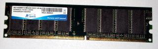 1 GB DDR-RAM 184-pin PC-3200U non-ECC  Adata AD1400001GMU