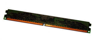 1 GB DDR2-RAM  240-pin PC2-3200U non-ECC  Kingston KFJ2887/1G  Low-Profil  9905431   Elpida-Chips