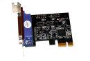 PCI Express x1 parallel i/O-Card 1port DSUB25   Low-Pofil