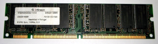 512 MB SD-RAM 168-pin PC-133 non-ECC  CL3 Infineon HYS64V64220GU-7.5-D