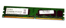 2 GB DDR2-RAM 240-pin PC2-4200U non-ECC  533MHz single-sided