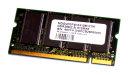 512 MB DDR-RAM 200-pin SO-DIMM PC-2100S CL2.5  VDATA...