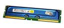 256 MB RDRAM Rambus Memory PC-600 ECC 53ns Samsung...