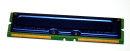 256 MB RDRAM Rambus 184-pin PC-600 non-ECC 53ns Samsung...