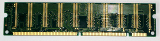 256 MB SD-RAM 168-pin PC-133U non-ECC  Kingston KVR133X64C3/256   9905121   single-sided