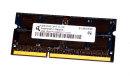 2 GB DDR3-RAM 204-pin SO-DIMM 2Rx8 PC3-8500S  Qimonda...