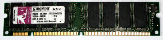 256 MB SD-RAM 168-pin PC-133U non-ECC  Kingston KVR133X64C2/256   9905220   single-sided