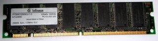 256 MB SD-RAM 168-pin PC-133U CL2 non-ECC  Infineon HYS64V32900GU-7-D
