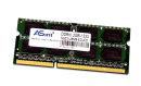 2 GB DDR3 RAM 204-pin SO-DIMM 2Rx8 PC3-10600S  ASint...