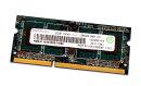 2 GB DDR3 RAM 204-pin SO-DIMM 1Rx8 PC3-10600S  Ramaxel...