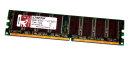 1 GB DDR-RAM 184-pin PC-3200U non-ECC  Kingston...