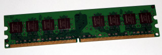 1 GB DDR2-RAM 240-pin PC2-5300U non-ECC  Kingston KVR667D2N5/1G 99U5316