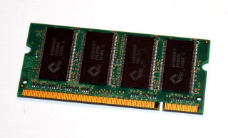256 MB DDR RAM 200-pin SO-DIMM PC-2700S CL2.5  Apacer 77.10634.530