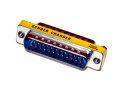 D-Sub Mini Gender Changer, 25-pin Stecker / 25-pin...