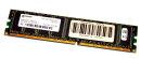 1 GB DDR-RAM 184-pin PC-2700U ECC-Memory CL2.5  Qimonda...