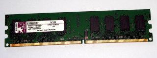 2 GB DDR2-RAM 240 pin PC2-5300U non-ECC  Kingston KVR667D2N5/2G  99..5316