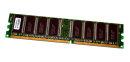 1 GB DDR-RAM 184-pin PC-3200U non-ECC  CL3  SanMax...