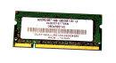 1 GB DDR2-RAM 200-pin SO-DIMM PC2-5300S 128Mx8 1.8V...
