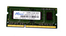 2 GB DDR3-RAM 204-pin SO-DIMM PC3-12800S  ASint...