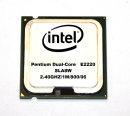 Intel Pentium E2220 SLA8W Dual-Core-CPU...