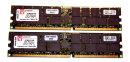 4 GB DDR-RAM Kit of 2 (2 x 2GB) PC-2100R Registered-ECC...