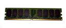 2 GB DDR2-RAM 240-pin 2Rx8 PC2-4200U non-ECC  Qimonda...