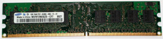 1 GB DDR2-RAM 240-pin 1Rx8 PC2-6400U non-ECC 800 MHz  Samsung M378T2863QZS-CF7
