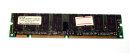 128 MB SD-RAM 168-pin PC-100U non-ECC CL2  Siemens...