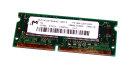 32 MB SO-DIMM 144-pin SD-RAM PC-100 CL2   Micron...