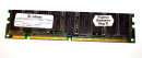 128 MB SD-RAM 168-pin PC-100  ECC-Memory  CL2  Infineon...