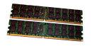 8 GB (2x 4GB) DDR2-RAM 240-pin Registered-ECC PC2-5300P...